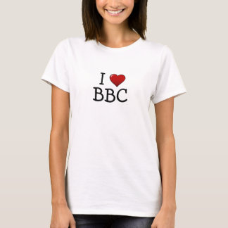 I Heart BBC Ladies Shirt