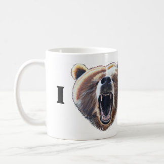 I Heart Bears Coffee Mug