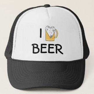 I Heart Beer Foam Trucker Hat