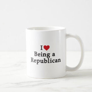 I Heart Being a Republican Coffee Mug