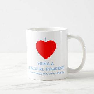 I Heart Being A Surgical Resident Cardiac Surgeon Coffee Mug