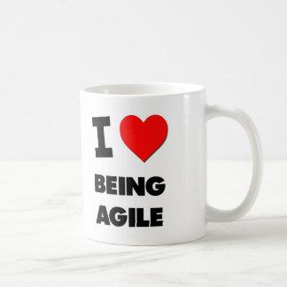 I Heart Being Agile Coffee Mug