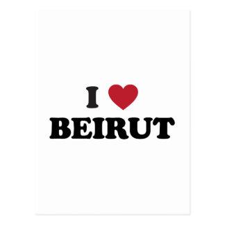 I Heart Beirut Lebanon Postcard