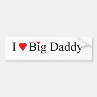 I Heart Big Daddy Bumper Sticker