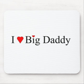 I Heart Big Daddy Mouse Pad