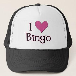 I Heart Bingo Trucker Hat