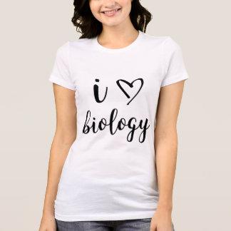 I Heart Biology Shirt