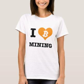 I Heart Bitcoin Mining/ I Be Bitcoin Mining T-Shirt