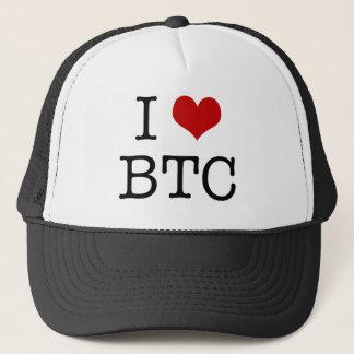 I Heart Bitcoin Trucker Hat