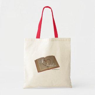 """I Heart Books"" Tote Bag"