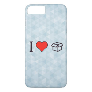 I Heart Boxes iPhone 7 Plus Case