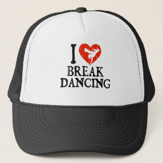 I Heart Breakdancing - Girl Trucker Hat