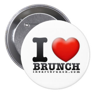 I Heart Brunch Button