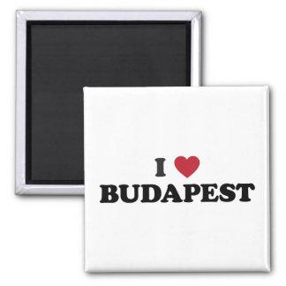 I Heart Budapest Hungary Magnet