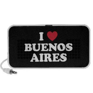 I Heart Buenos Aires Argentina Mini Speakers