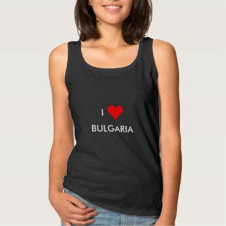 i heart bulgaria tank top