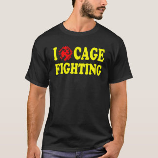 I (heart C3) Cage Fighting Black Tee