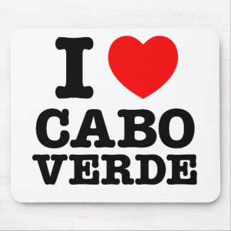 I Heart Cabo Verde Mouse Pad