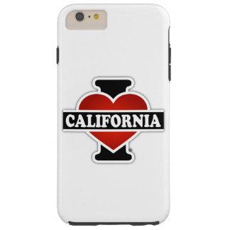 I Heart California Tough iPhone 6 Plus Case