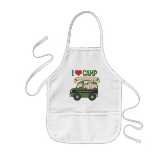 I Heart Camp Kids Apron