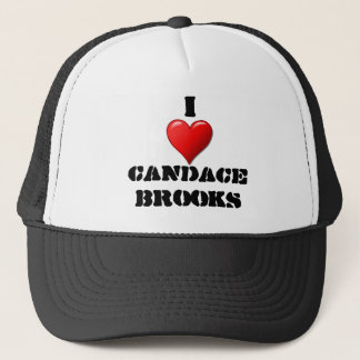 I heart Candace Brooks Trucker Hat