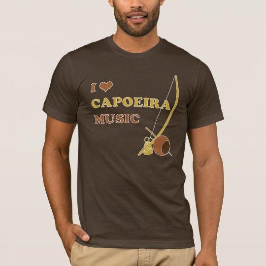 I Heart Capoeira Music T-shirt
