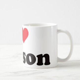 I Heart Carson Coffee Mug