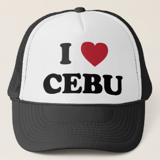 I Heart Cebu Philippines Trucker Hat