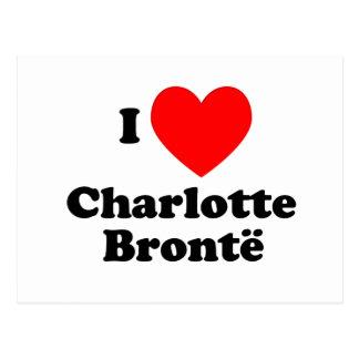 I Heart Charlotte Bronte Postcard