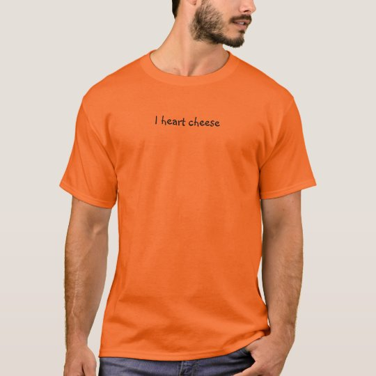 I heart cheese T-Shirt