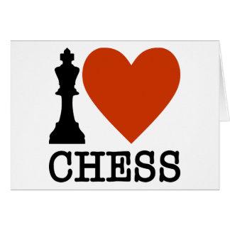 I Heart Chess Card