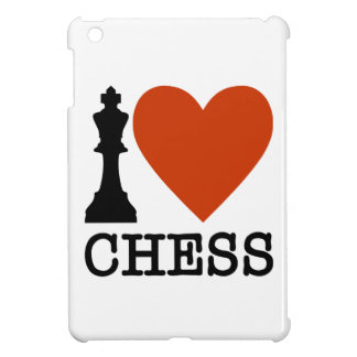 I Heart Chess iPad Mini Cases