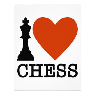 I Heart Chess Letterhead