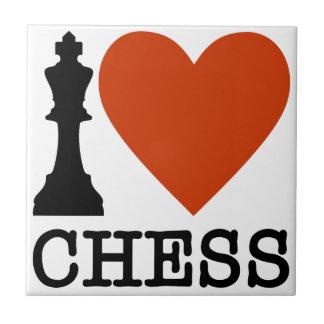 I Heart Chess Tile