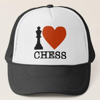I Heart Chess Trucker Hat