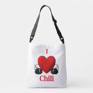 I Heart Chili Crossbody Bag