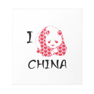 I heart China Notepad