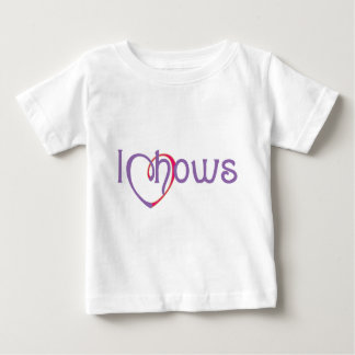 I Heart Chows Baby T-Shirt