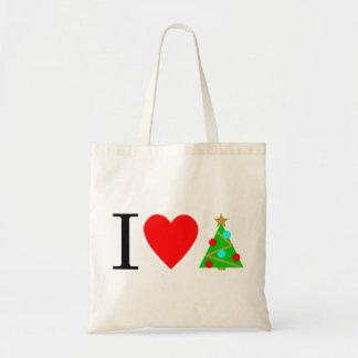 I Heart Christmas Tote