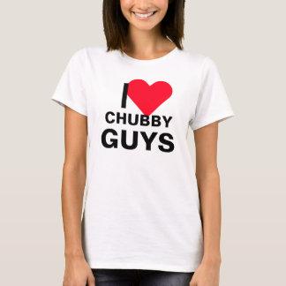 I Heart Chubby Guys T-Shirt