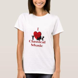 I Heart Classical Music T-Shirt