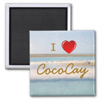 I Heart CocoCay Magnet