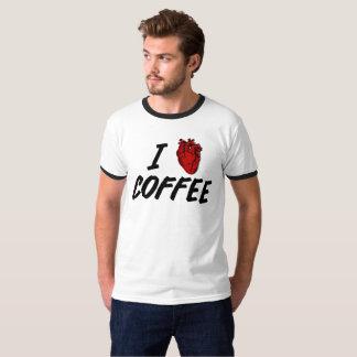 I heart coffee - I love coffee T-Shirt