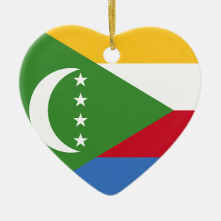 I Heart Comoros Ornament