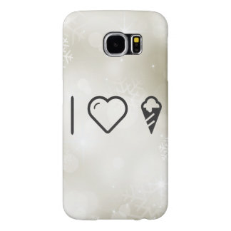 I Heart Cone Icecreams Samsung Galaxy S6 Cases