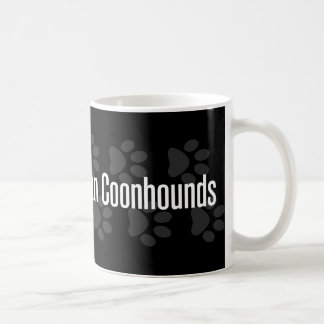 I (heart) Coonhounds (Black & Tan) Classic White Coffee Mug