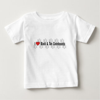 I (heart) Coonhounds (Black & Tan) Shirt