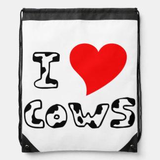 I Heart Cows Backpacks