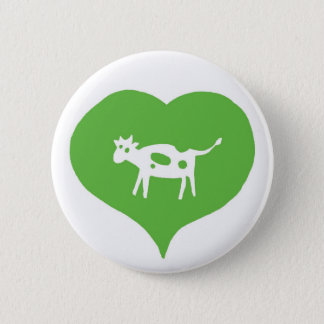 I Heart Cows Pin
