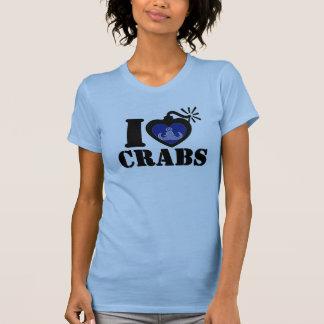 I Heart Crabs T-Shirt